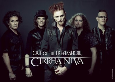 Cirrha Niva - Bandposter - Out Of The Freakshow