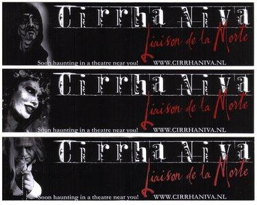 Cirrha Niva - Liaison De La Morte - Stickerset